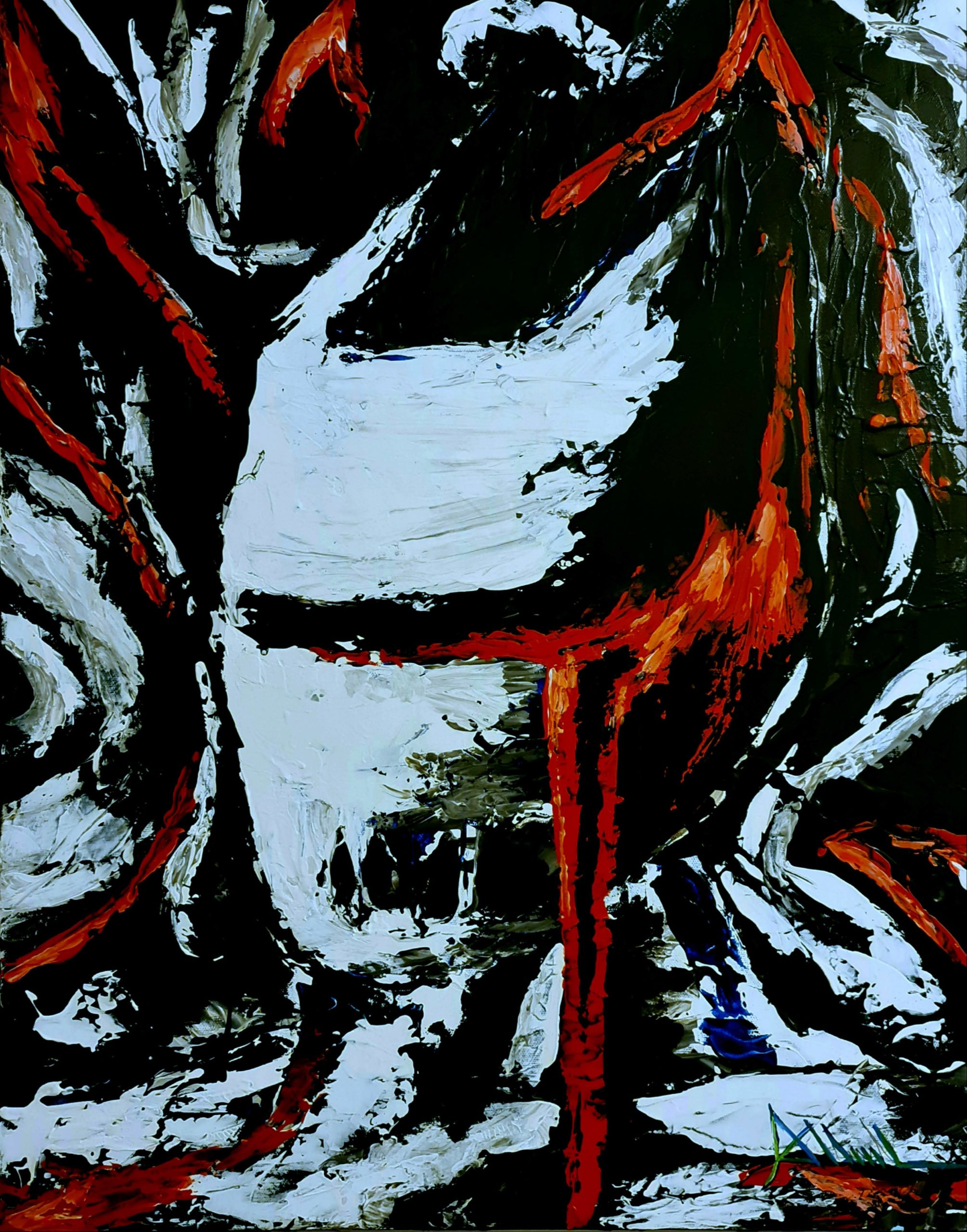 Aaron Lloyd, Momentum 2020, Acrylic on Canvas
